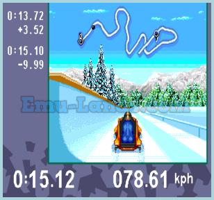 Olympic Winter Games-Lillehammer 94 на sega